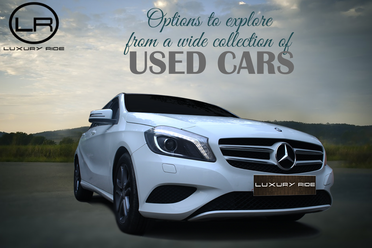 Options to explore from a wide collection of Used Cars - Luxury Ride